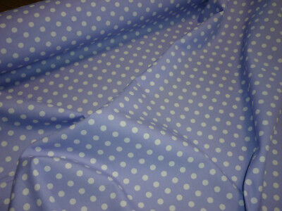 Porta Cot Fitted Sheet - 100% cotton - Polka Dots