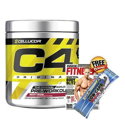 C4 Gen4 Pre-Workout 30 Serves Cellucor Preworkout Energy Pump Focus G4