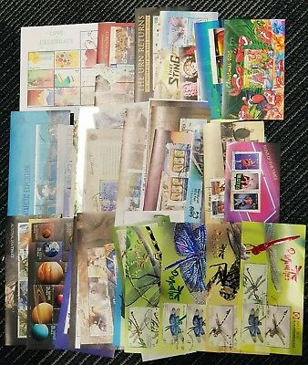 50 Different Australian Miniature Sheets Stamps CTO All Cancelled To Order
