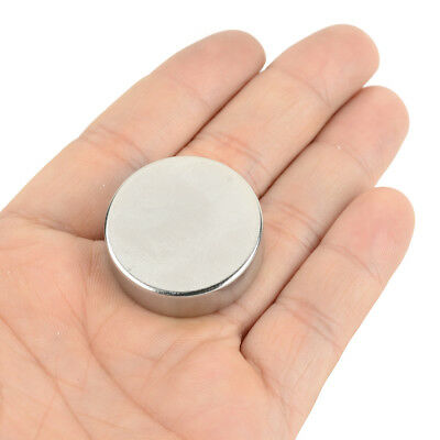 Disc Round Strong Rare Earth Magnets Neodymium N35 30mm x 10mm