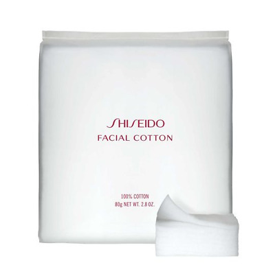 SHISEIDO Japan Makeup Facial 100% Cotton Pads Extremely Soft & Gentle 165 Sheets