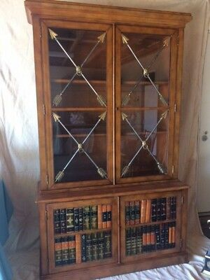 Leather Bookcase (Hermés?) Wow!