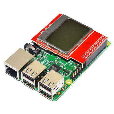 84 x 48 PCD8544 Matrix LCD Shield With Backlight for Raspberry Pi B+ / B
