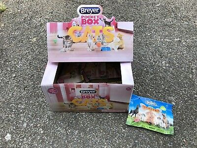 Lot 6 Breyer Pocket Box Cats Dogs Blind Bag Unopened #1586 Surprise New NIP