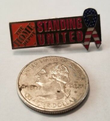 Collectible Pin: Home Depot Standing United Ribbon Design