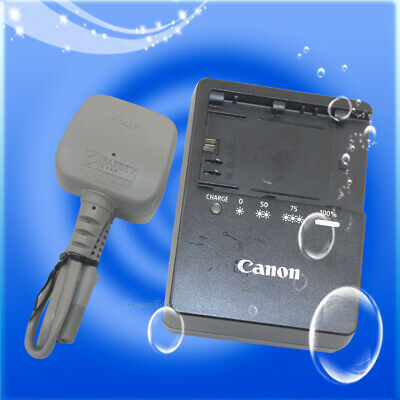 Genuine Original Canon LC-E6E LC-E6 Charger for EOS 60D 5D Mark II Battery LP-E6