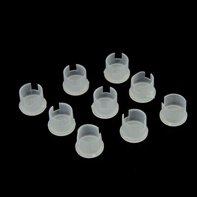 500pcs Protective Plastic Cover Dust Cap for BNC Female Jack Connector Adapter
