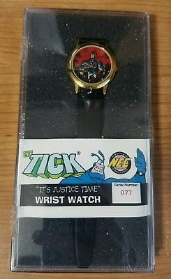 NEC~The Tick~Its Justice Time~Limited Edition Watch~Signed COA~NEW~Amazon~Edlund
