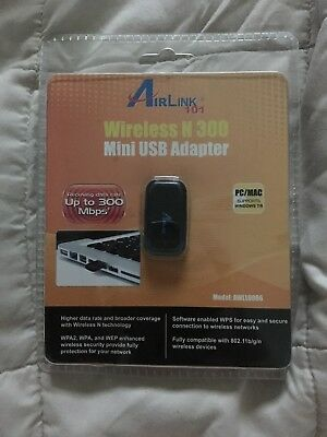 AIRLINK101 WIRELESS N 300 DRIVERS FOR MAC DOWNLOAD