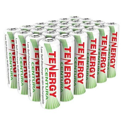 Tenergy AA 2000mAh Low Self Discharge Centura NiMH Rechargeable Battery Cell Lot