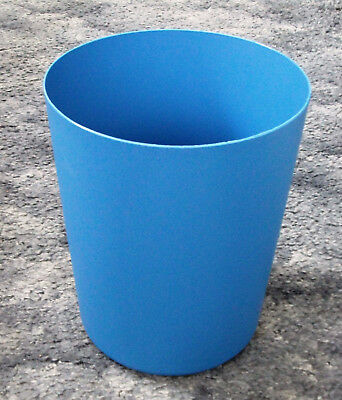 Blue Litter Bin - Height 23cm Diameter 19cm - BNWOT