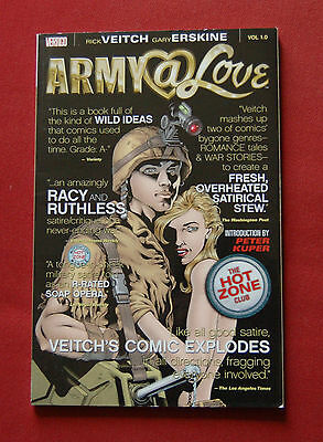 Army @ Love - Volume 1 The Hot Zone Club - Rick Veitch Gary Erskine Vertigo TPB