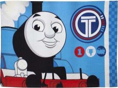 """Official Thomas The Tank """"winner"""" Character Fleece Blanket Snuggle Throw"""