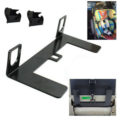 NEW Universal ISOFIX Mount Base Car SUV Autos Safety Seat Belt Bracket Latch 5mm