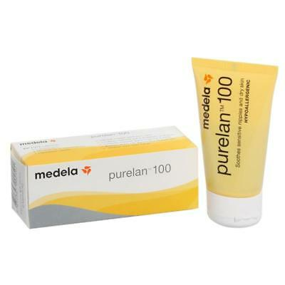 Medela Purelan 100 Nipple Cream - 37g Pure Lanolin 100%