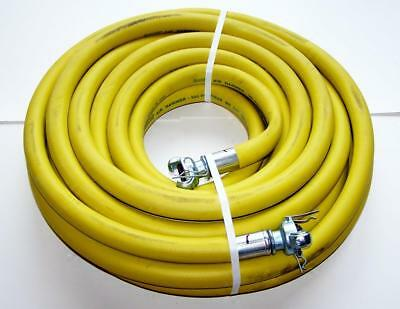 "Goodall 3/4""  50' Air Hammer Hose 300 PSI 20BAR WP DN19 yellow rubber jackhammer"