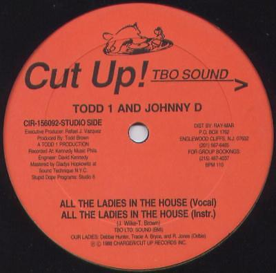 "Todd 1 - All The Ladies In The House / Thats The Way Vinyl 12"" 071620"