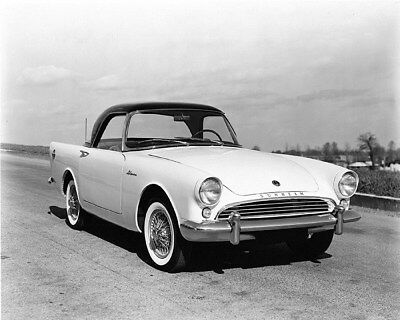 1959 1960 Sunbeam Alpine Factory Photo cb1815