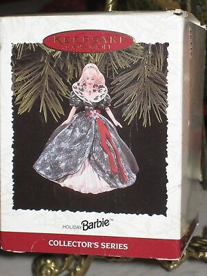 Hallmark Ornament 1995 Holiday Barbie 3rd in Holiday Barbie Series
