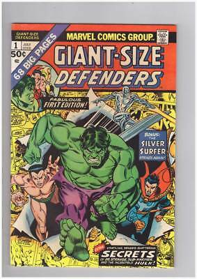 Giant-Size Defenders # 1  The Hulk  Silver Surfer grade 8.5 scarce book !!