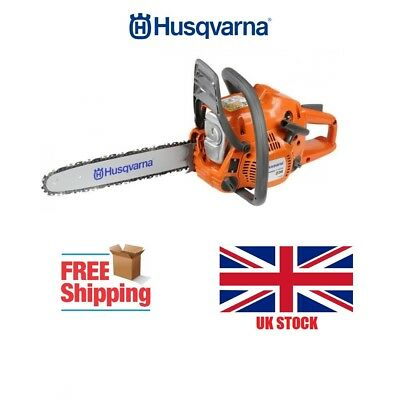 Husqvarna 2 Stroke Petrol Heavy Duty Chainsaw Tree Surgery Prune Cutter Oak