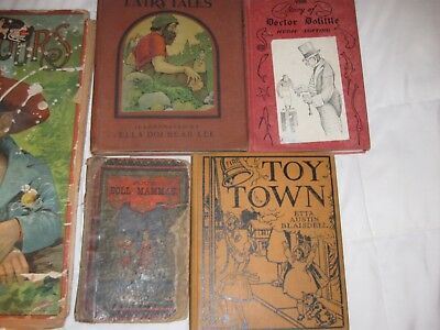 Lot of 6 Rare, Vintage Children's Books - Your choice of books