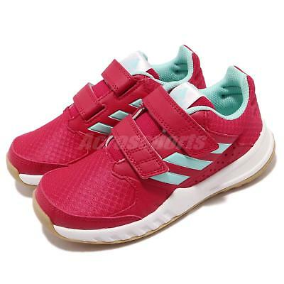 new product eb76d 83256 adidas FortaGym CF K Red Blue White Gum Kid Junior Training Shoes Sneaker  CG2680