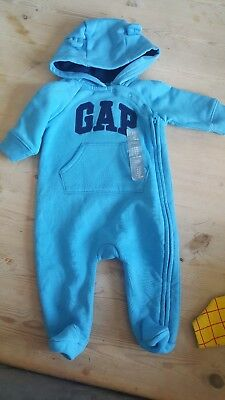 Baby Boys Gap Coat All In One. Size 0-3 Months