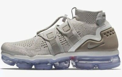 Nike Air Vapormax Flyknit FK Utility MOON PARTICLE Beige AH6834 205 Mens Size 10