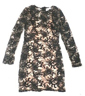 ce052c2f78b Missguided Women s Floral Lace Bodycon Dress Black CB4 Size US 4 UK 8 NWT