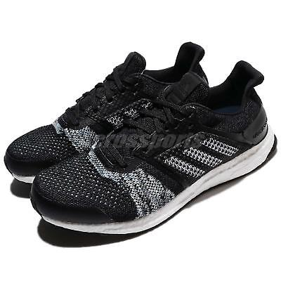 982d8d5ac adidas UltraB OOST ST M PrimeKnit Black White Men Running Shoes Sneakers  CQ2144