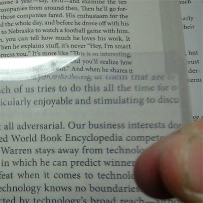 Portable Pockets 3x Magnifier Magnifying Glasses Magnifying Lens For ReadingDY