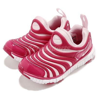 f12a36c49887 Nike Dynamo Free PS Pink White Preschool Girls Running Shoes Sneakers  343738-626