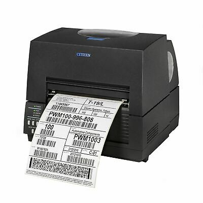 Citizen CL-S6621 Desktop Label Barcode Printer With Included Software Bundle