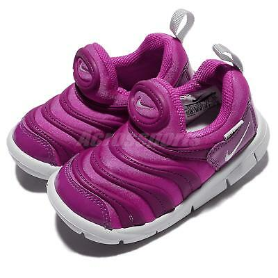 low priced bca89 31f30 Nike Dynamo Free TD Fire Pink Pure Platinum Toddler Infant Baby Shoes 343938 -622