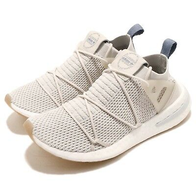 premium selection d0444 d04df adidas Originals ARKYN PK W Primeknit Boost Talc Linen Women Running Shoe  B96509