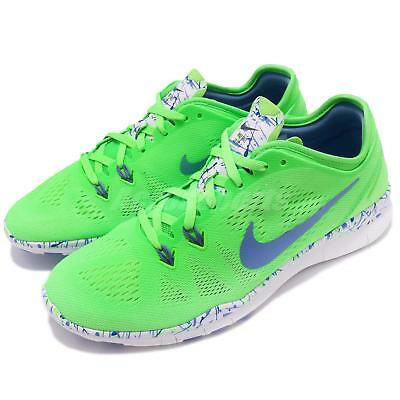 best sneakers 2df29 931e4 Nike Wmns Free 5.0 TR Fit 5 PRT Voltage Green Women Training Trainers  704695-301