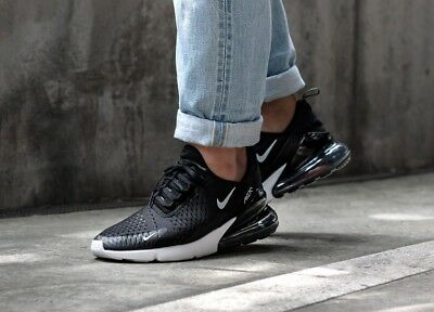 Nike Air Max 270 Black/Solar Red/White/Anthracite Mens Trainers [AH8050-002]