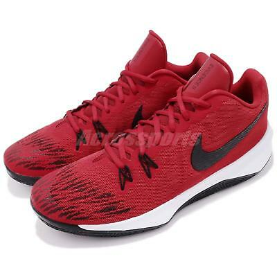 a9e6c5377df4 Nike Zoom Evidence II EP 2 Gym Red Black Men Basketball Shoes Sneaker 908978 -600