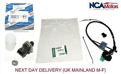 Land Rover Freelander 1 TD4 Fuel Rail Pressure Sensor and Wiring Repair Kit OE