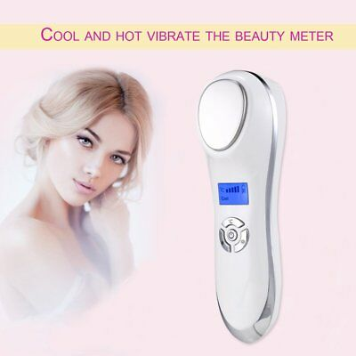 Ultrasonic Hot Cold Firming Face Electric Skin Firming Vibration MassagerDY