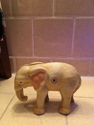 Cast Iron Vintage Elephant Bank