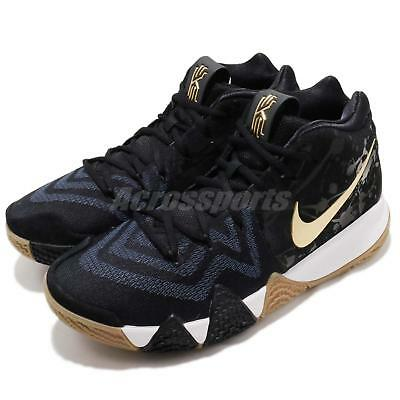 4b3cb19d2cab Nike Kyrie 4 EP IV Irving Pitch Blue Gold Men Basketball Shoe Sneaker 943807 -403