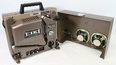 Vintage Eiki SSL-2 Super SLim 16 mm Projector Complete Original - READ BELOW!