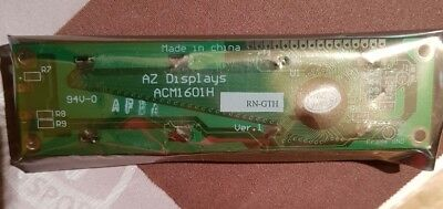 AZ DISPLAYS ACM 1601H SERIES LCD MODULE 16 Zeichen 5.0V 122 x 33 x 9,5mm