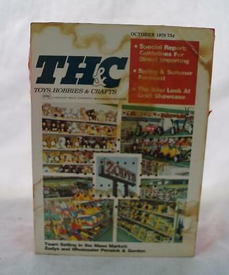 Vintage TH&C Toys Hobbies & Crafts Advertising Novelty AM Transistor Radio