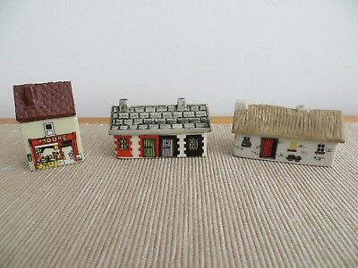 Wade Whimsey 'Bally-Whim Irish Village' - Houses - Nos. 2,3,4 (1984-87)