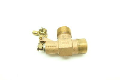 New Robert Mfg Bob Brass Float Valve 1in Npt