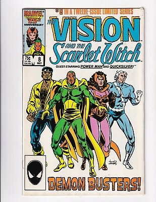 Vision And The Scarlet Witch #8 (Marvel 1986)