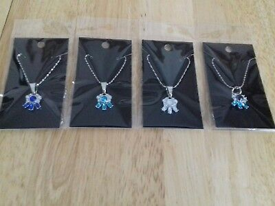 Joblot 4  New Items Of Fashion Jewellery Necklaces